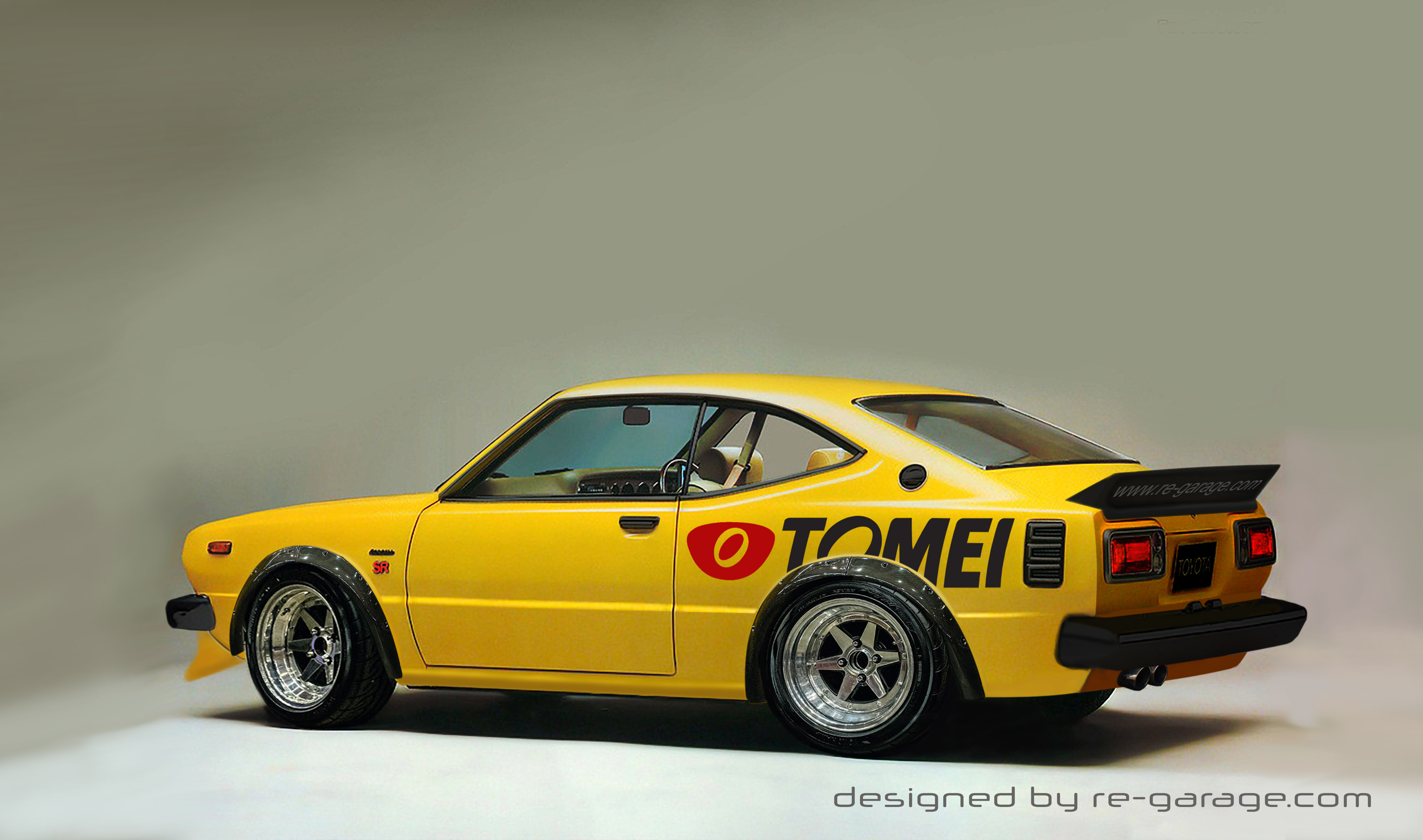 Toyota Corolla levin sr by re-garage-com