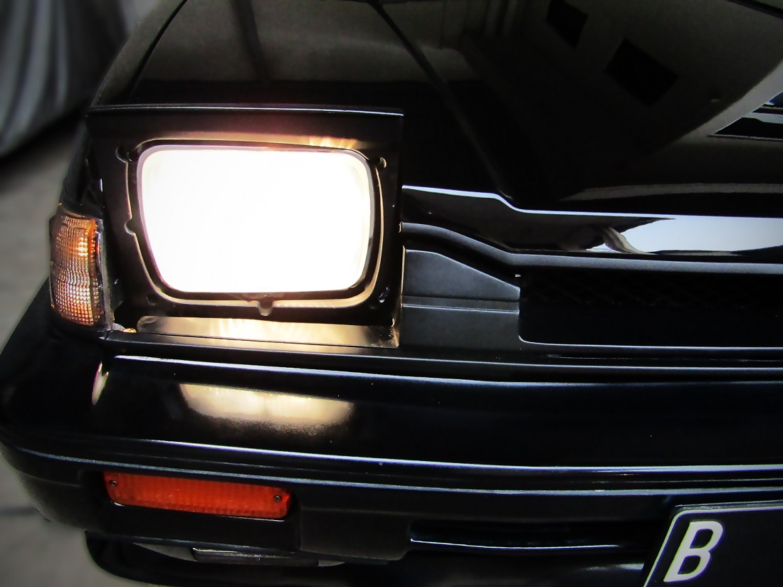 RE-GARAGE Honda prelude 1985 head lamp