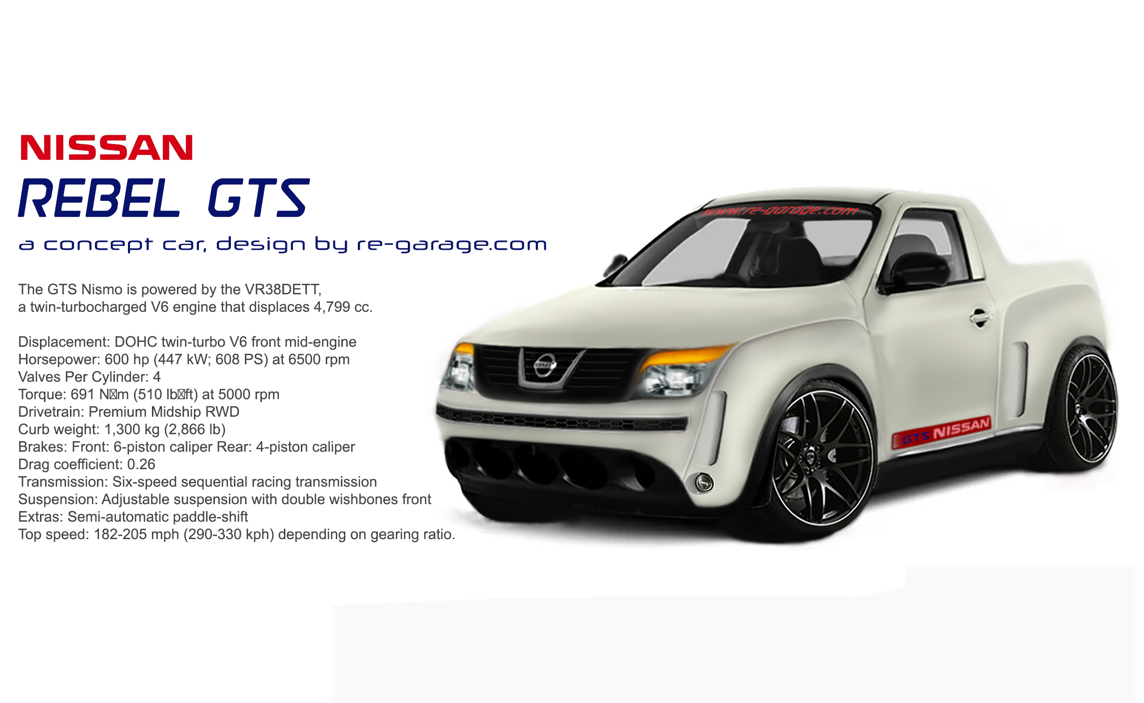 nissan rebel gts by re-garage-com