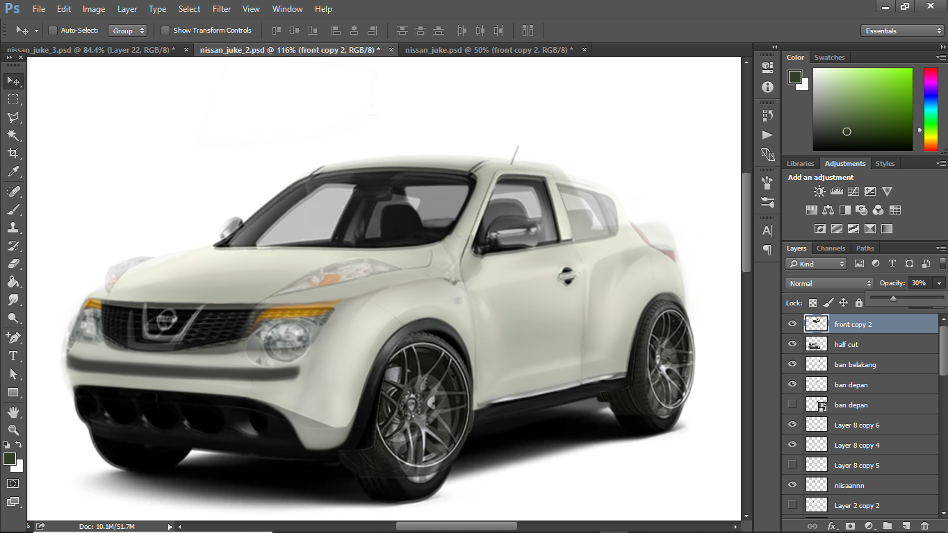 nissan rebel gts by re-garage-com trans