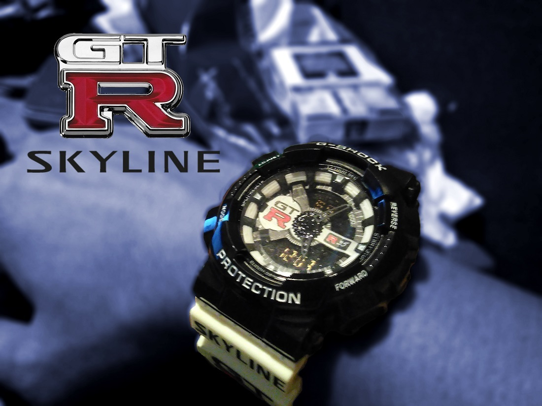 nissan skyline gtr watch nayos